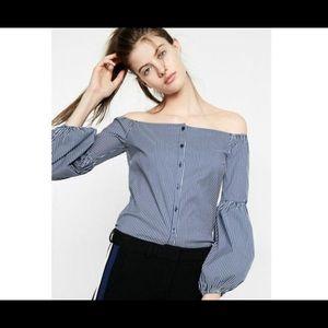 Express off the shoulder blouse-Medium